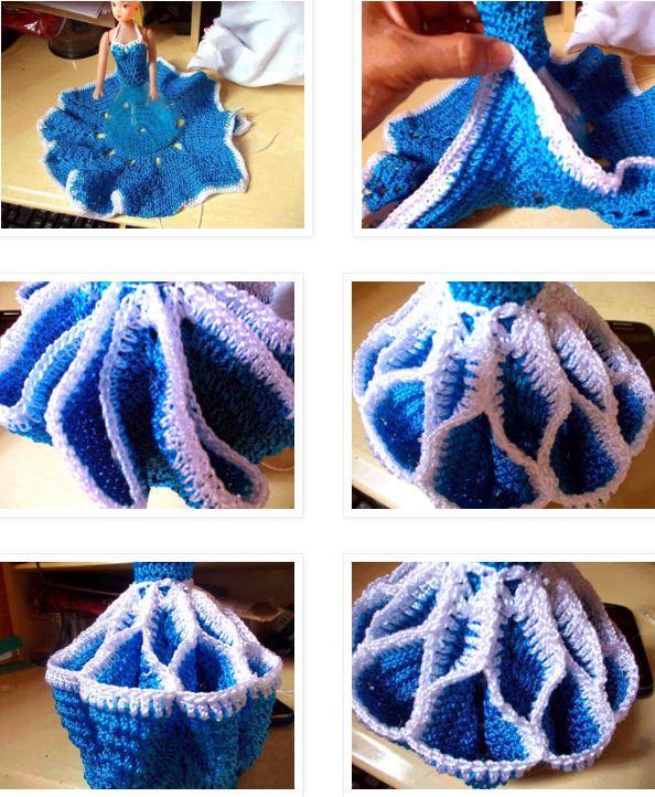 Cómo Tejer un Vestido para Muñeca Paso a paso | Patrones para Crochet
