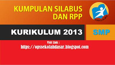 Download RPP Bahasa Indonesia kelas 7 MTS Kurikulum 2013 revisi 2016