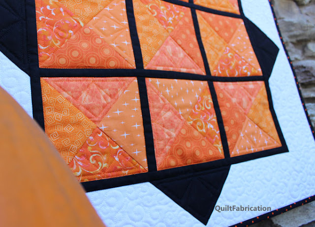 triangle quilting motif