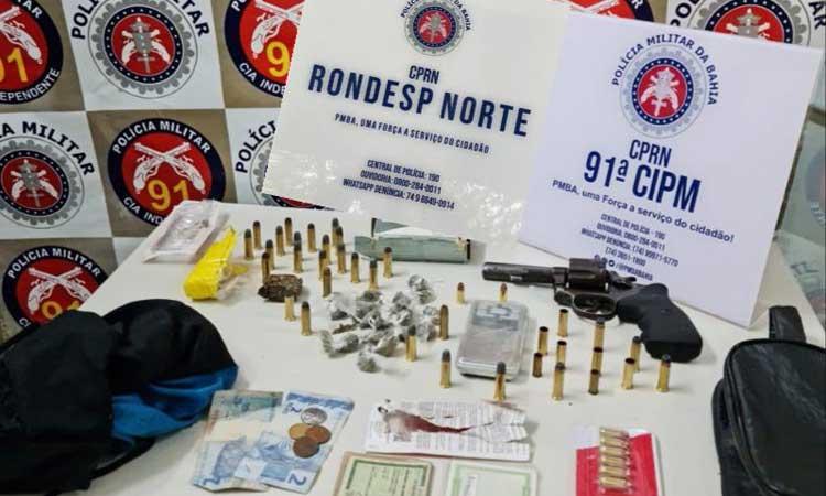 EM CAPIM GROSSO TRAFICANTE MORRE EM CONFRONTO COM A POLICIA MILITAR