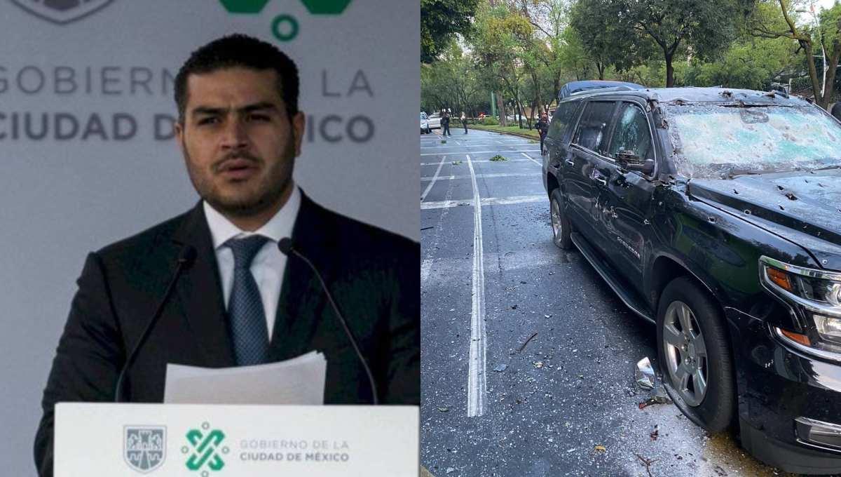 """El CJNG amenazó a García Harfuch; por lo que reforzó su seguridad y hoy la gente de """"El Mencho"""" lo embosco"""