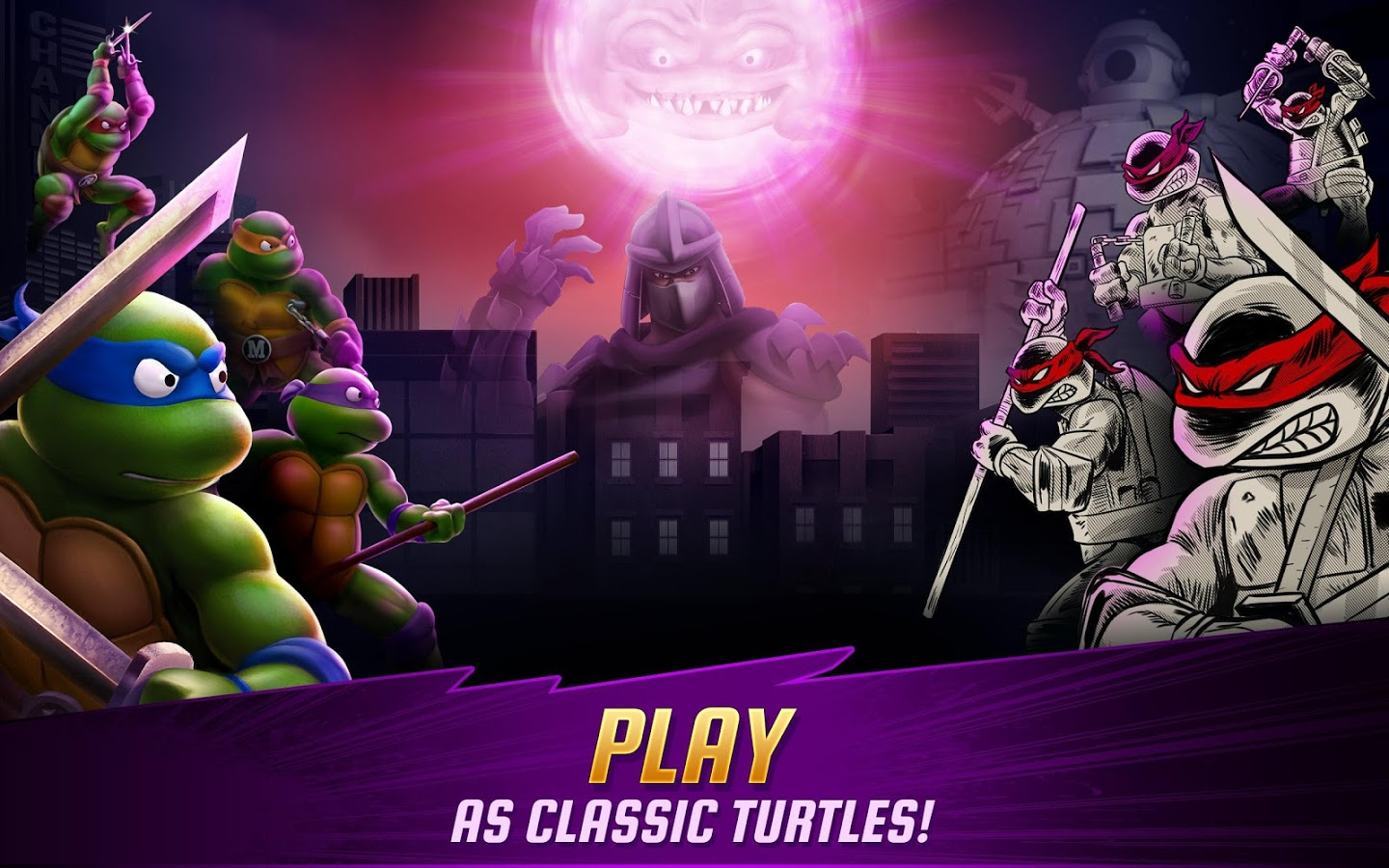 Ninja Turtles Legends MOD APK