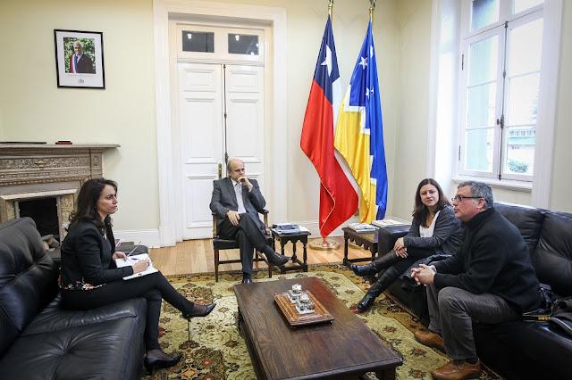 Colegio de Periodistas de Magallanes dialogó con Intendente y la Seremi de Gobierno sobre el ejercicio de la profesión