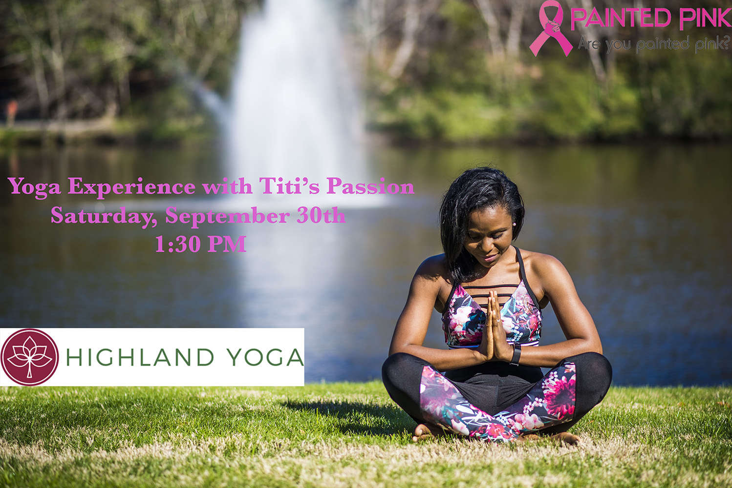 Passionate about Painted Pink: Titi's Passion Yoga Experience