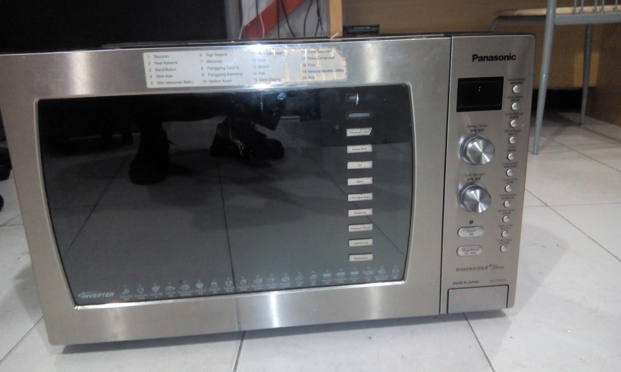 panasonic nn cd997s microwave repair