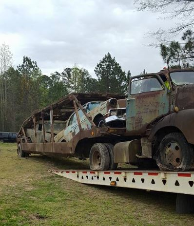 Vintage auto hauler for sale