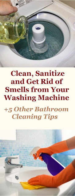 Clean, Sanitize & Remove Odors From Your Washing Machine + 5 Other
