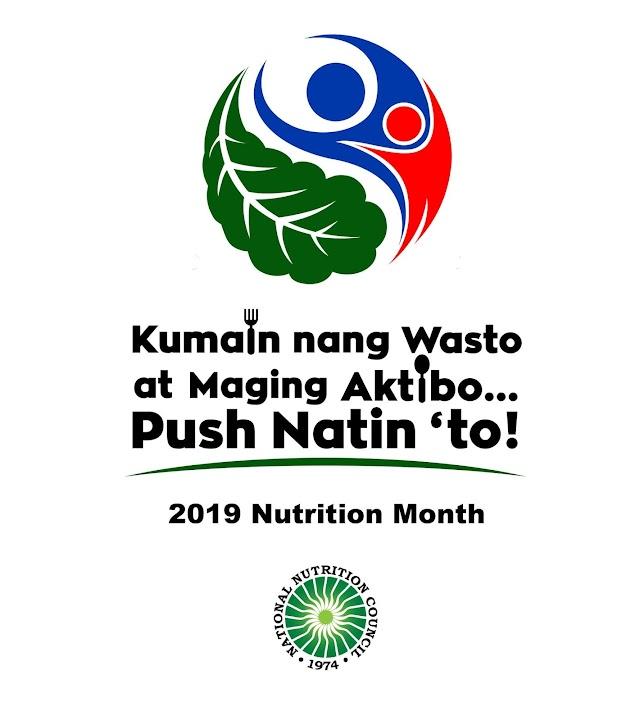 2019 Nutrition Month Celebration Theme, Logo and Streamer