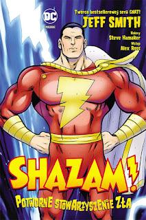 Shazam! Potworne Stowarzyszenie Zła okładka