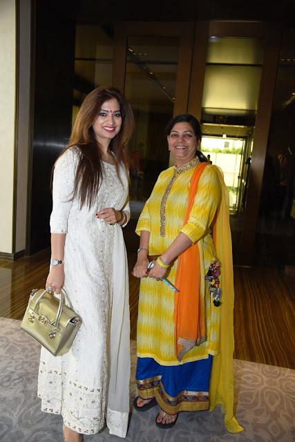 Designer Preeti Ghai with Shobha Vijender Gupta