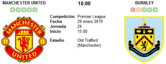 Manchester United vs Burnley en VIVO