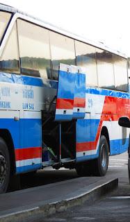 Bus from Bangkok to Lom Sak