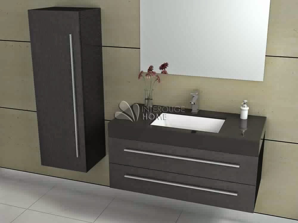 meuble salle de bain 1 vasque meuble d coration maison. Black Bedroom Furniture Sets. Home Design Ideas