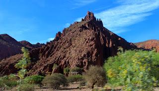 La Quebrada de Palala, junto a Tupiza