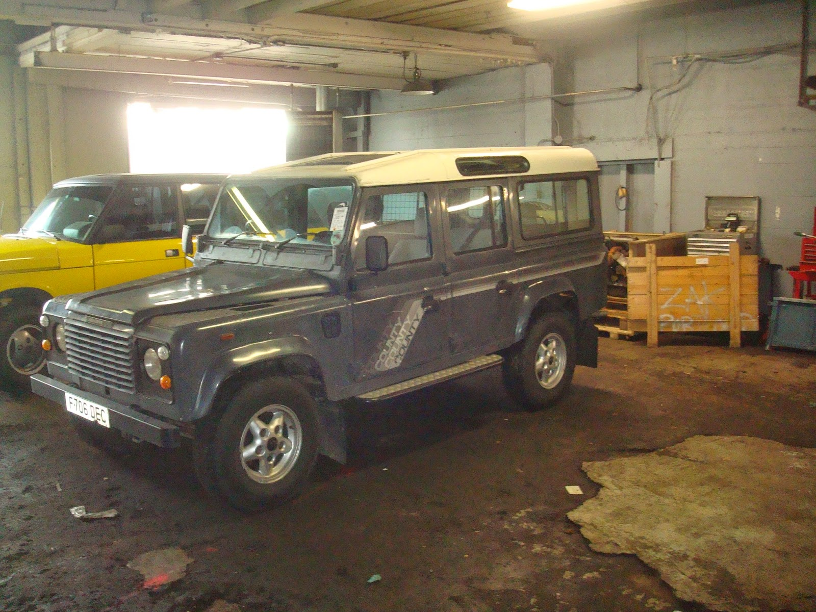 Laughs And Lashings: Land Rover Defender 110 from 2 5 diesel