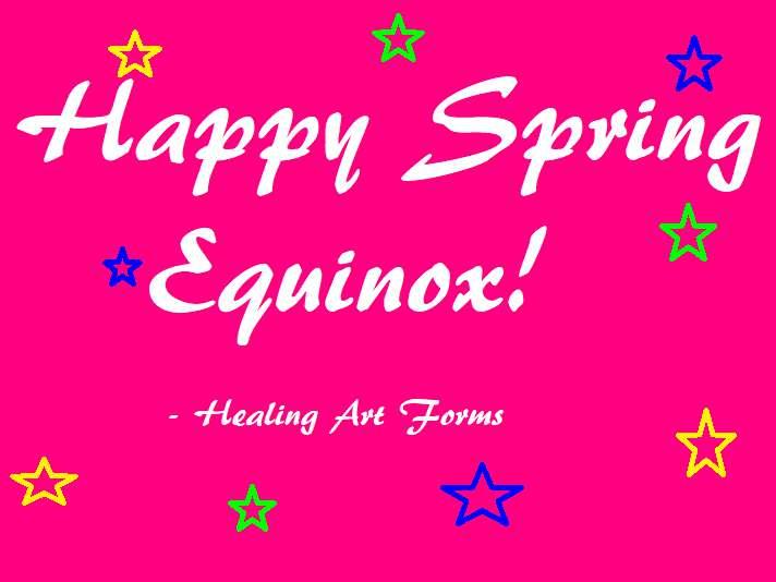 Spring Equinox Wishes Beautiful Image