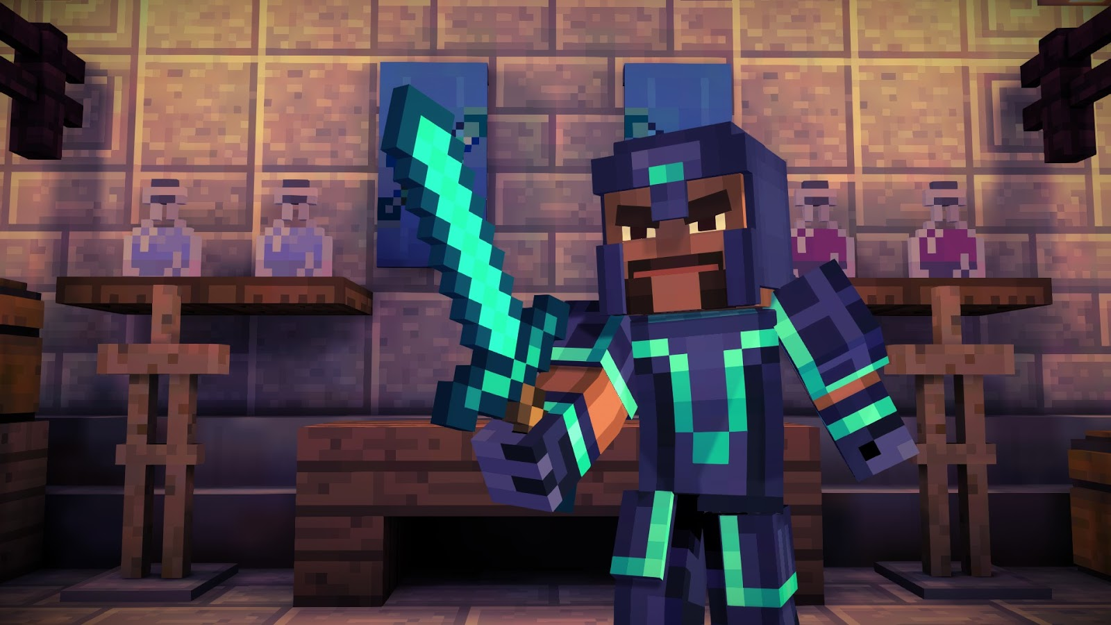 SPIEL FILM SPASS: Minecraft: Story Mode - Ep. 1: The Order of the ...