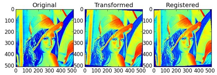 Scientific Computing & Co: Rigid Image Registration (a quick