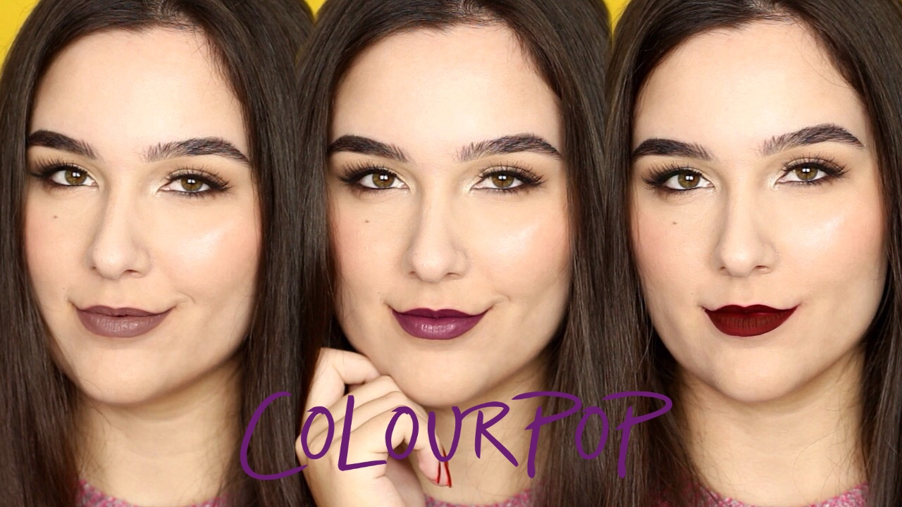 ColourPop Ultra Matte Liquid Lipstick Review + Lip Swatches