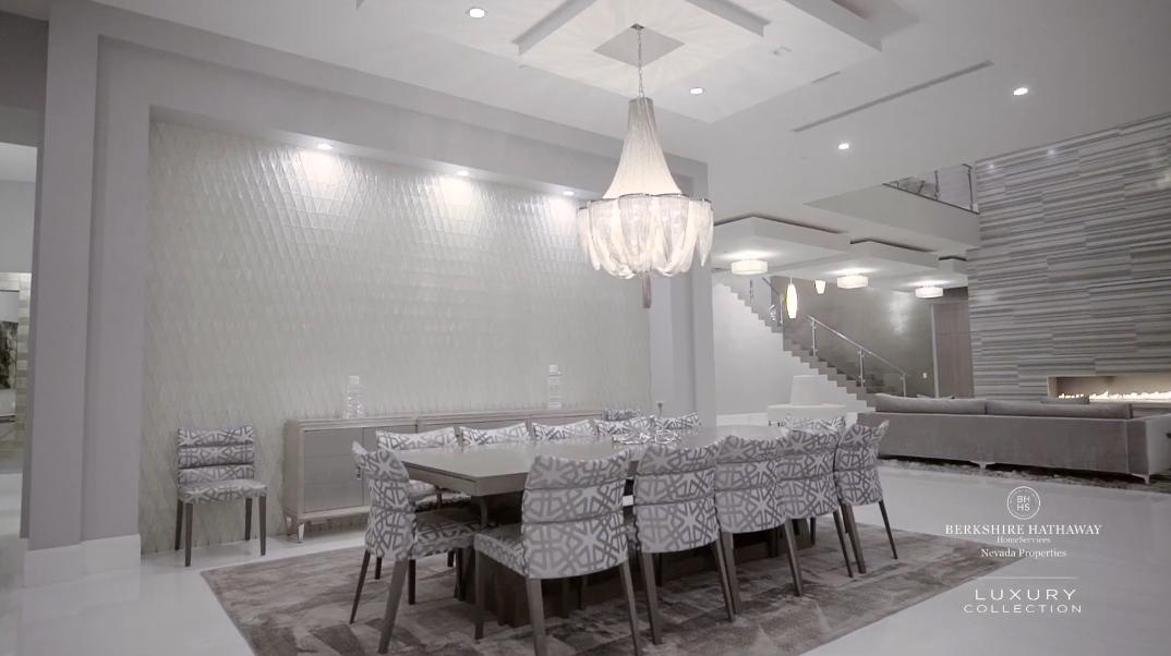 49 Interior Photos vs. Tour 19 Flying Cloud Ln, Las Vegas, NV Luxury Modern Mansion
