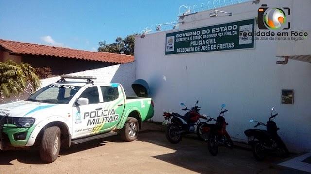 Polícia prende homem acusado de invadir e furtar residências na cidade de José de Freitas