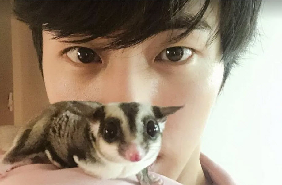 Jin pays sincere tribute to his pet with Bantani