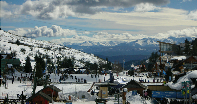 Neve em Bariloche na Argentina