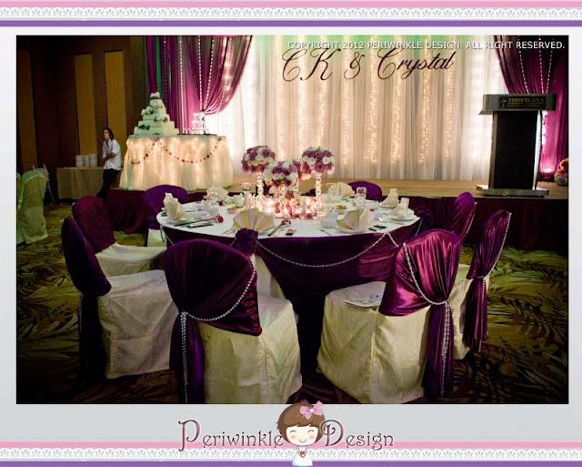 furniture covers purple theme