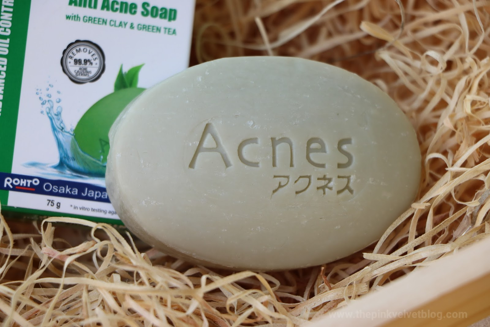 Rohto ACNES Advanced Oil-Control Anti-Acne Soap Review