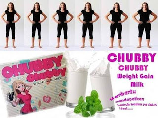 CHUBBY CHUBBY WEIGHT GAIN MILK