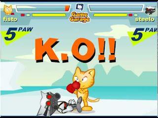 لعبة حرب القطط