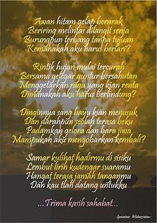 Puisi terima kasih sahabat