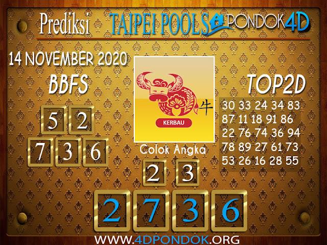 Prediksi Togel TAIPEI PONDOK4D 14 NOVEMBER 2020