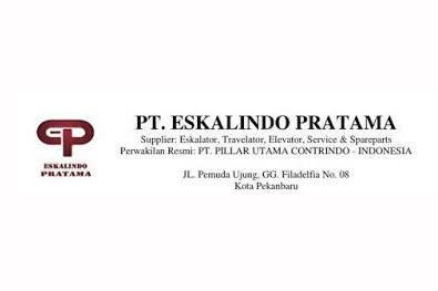 Lowongan PT. Eskalindo Pratama Pekanbaru April 2019