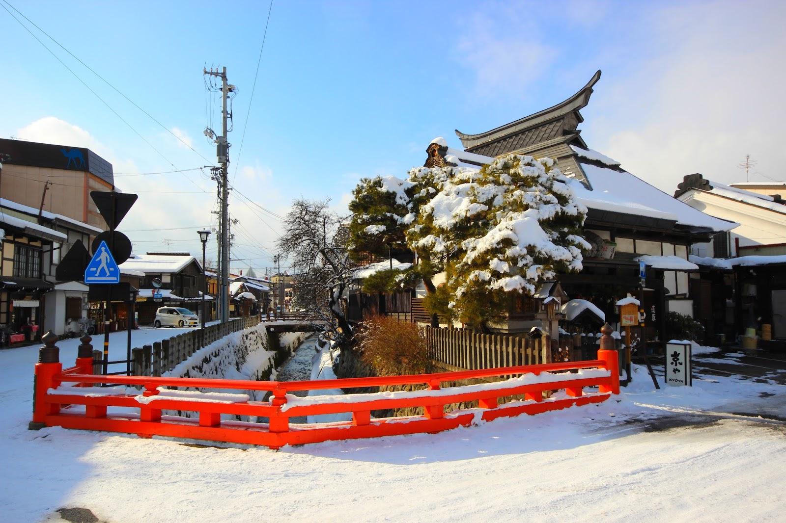 Riviere de Takayama - Le Chameau Bleu