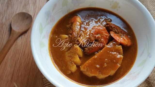 Pajeri Nenas Azie Kitchen