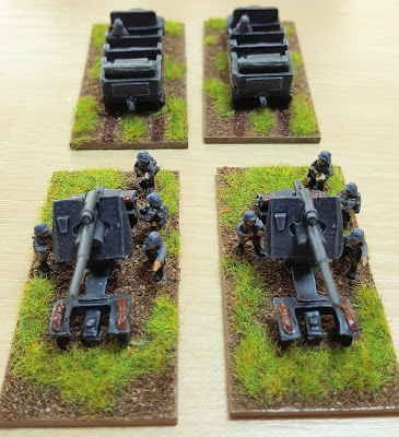 Luftwaffe detachment with 88mm and 20mm picture 3