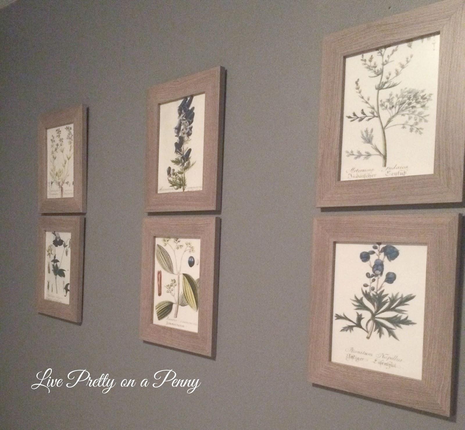 Free Printable Alert! Botanical Gallery Wall Art - Live Pretty on a