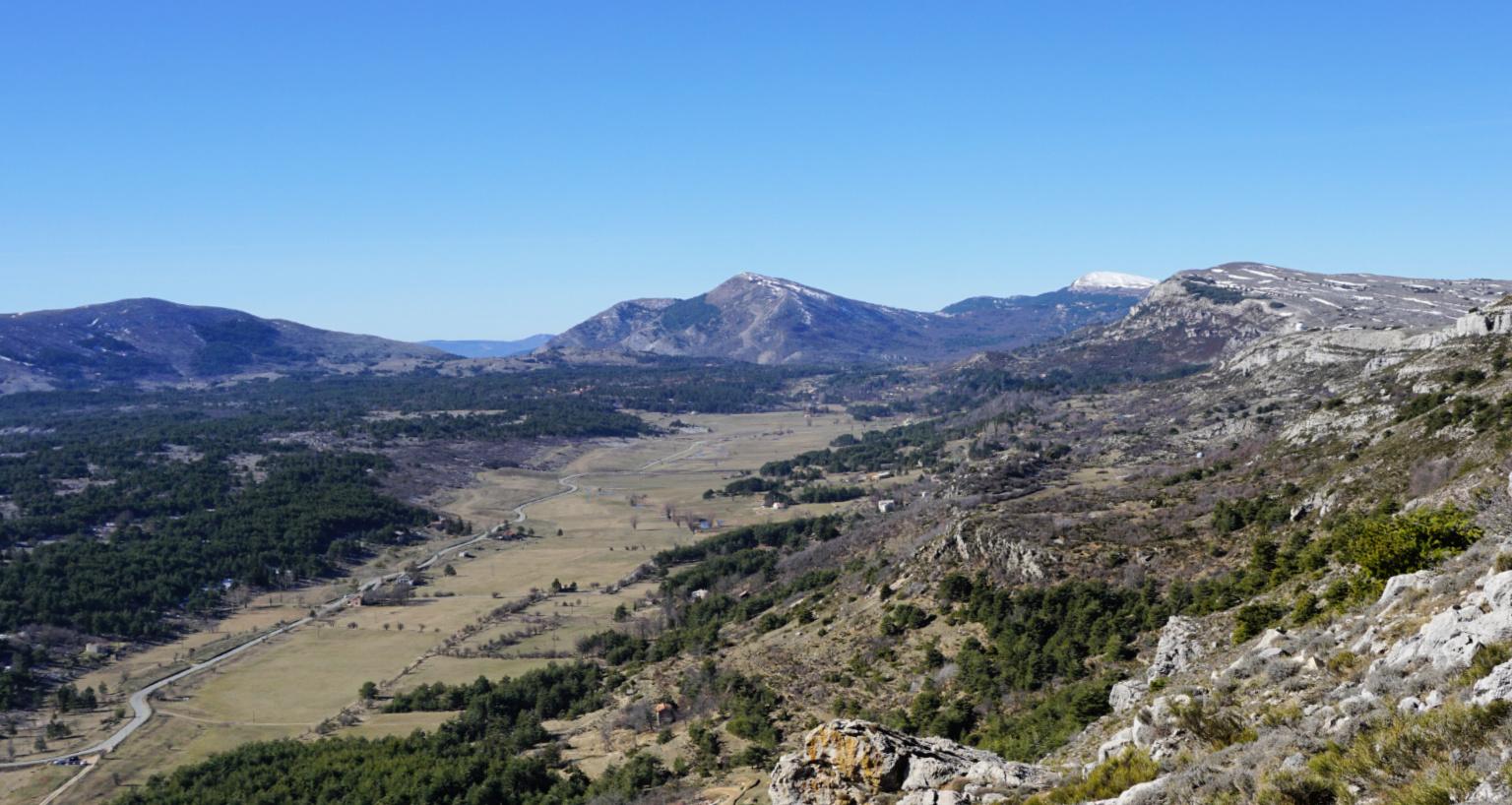 Wintry Plateau de Caussols