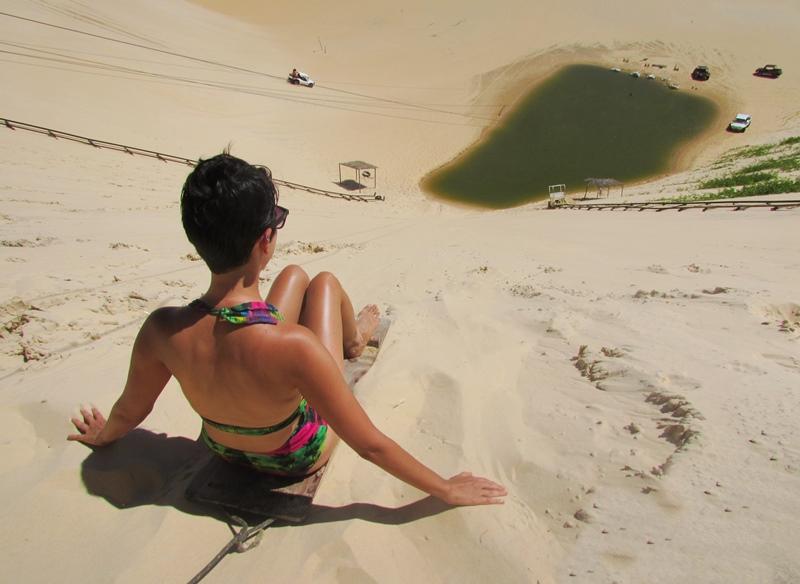 skibunda e tirolesa em Canoa Quebrada: como chegar, valores e dicas