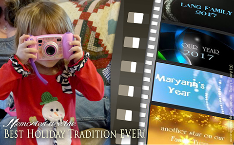 Annie Lang's tips for creating treasured yearly home movies that will quickly become a cherished tradition.