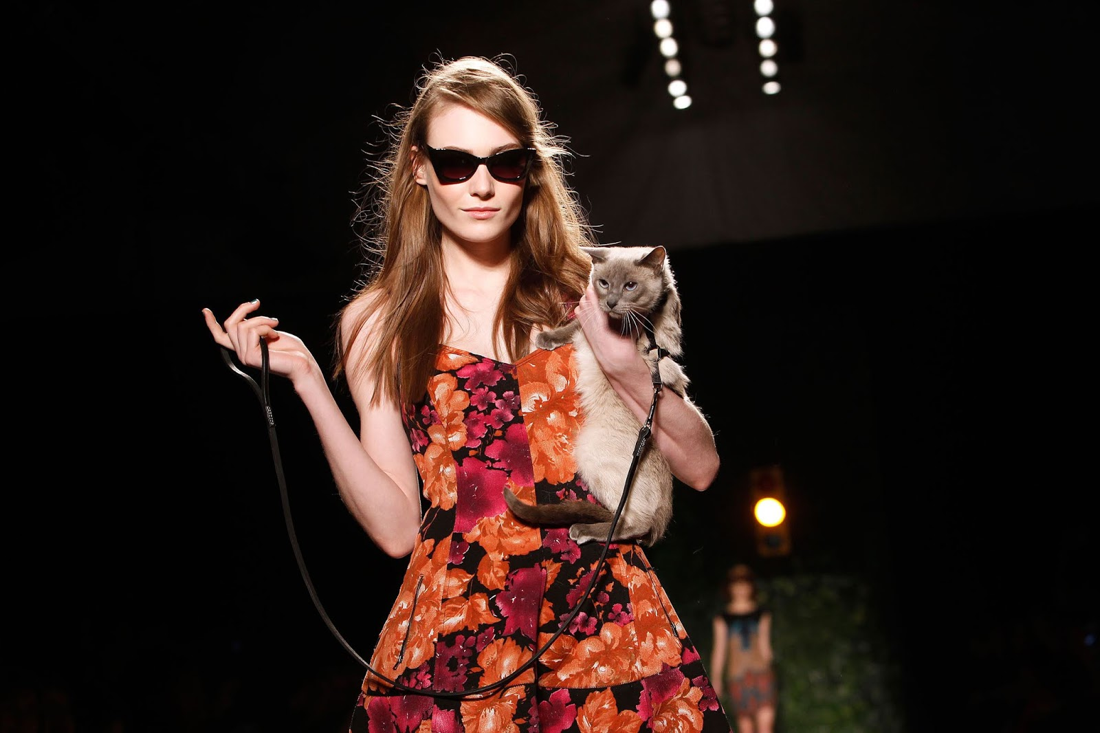 The Short Answer Would Seem To Be None Runway Models Don T Design Clothes Nor Do They Hold Rights Brands Or Show Itself