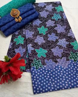 Kain Batik dan Embos 472a1 Biru