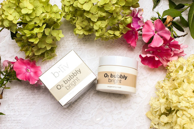 Review // B.liv 02 Bubbly Bright Oxygenating Mask
