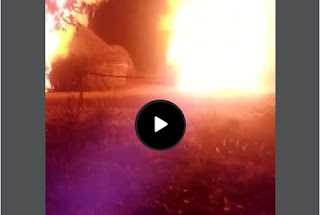 Breaking: Herdsmen on the run as Eastern Security Network Storms forests, burnt down settlement in Ebonyi (Watch Video)