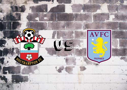 Southampton vs Aston Villa  Resumen