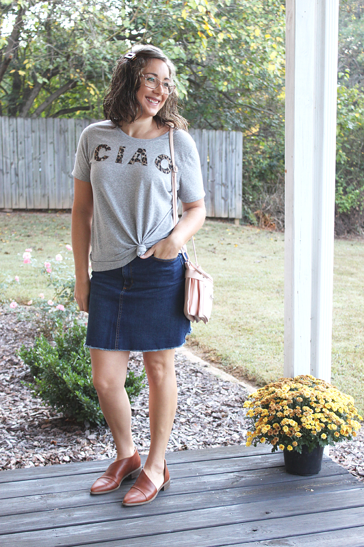 DIY Anthropologie Inspired Ciao Tee // Tutorial // Sewing For Women