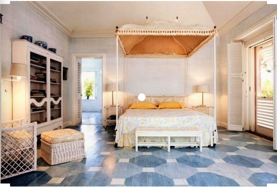 The Allure of Painted Floors: Graphic and Patterned Floors