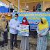 Bupati Sayed Jafar Serahkan BLT Dana Desa di Kecamatan Kelumpang Selatan
