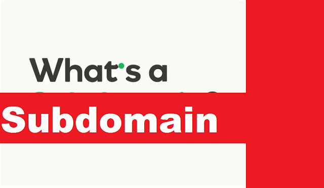 What is a subdomain?